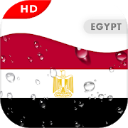 Egypt Flag 3D live wallpaper