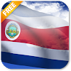 3D Costa Rica Flag LWP For PC