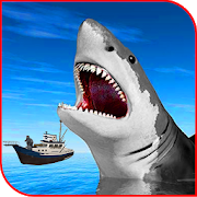 Shark Attack Blue Whale 3D Adventure Game