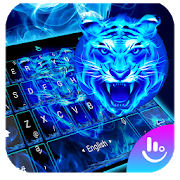 Neon Tiger King Keyboard Theme  Latest Version Download