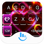 Red Heart Love Keyboard Theme  Latest Version Download