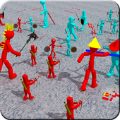 Stickman Battle of Warriors For PC