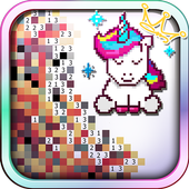 Unicorn of Love: The Number Coloring by Pixel Arts  Latest Version Download