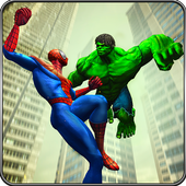 Incredible Monster vs Super Spiderhero City Battle Latest Version Download