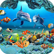 Download Fish Live Wallpaper 3D Aquarium Background HD 2018 APK 11