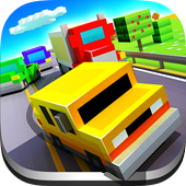Blocky Highway: Traffic Racing Latest Version Download
