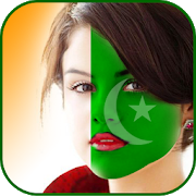 Pakistan Face Flag Photo Editor Independence Day 1.0 Android for Windows PC & Mac