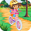 Biker Girl Hill Ride For PC
