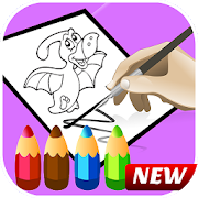 Dinosaur Coloring Book Educational Games APK