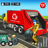 Garbage Truck: Trash Cleaner Driving Game  in PC (Windows 7, 8 or 10)