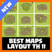 Best Maps Layout COC TH 11 Latest Version Download