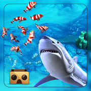 Angry big Shark Virtual Reality ( VR )  Latest Version Download