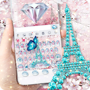 Girly Paris Keyboard - Girly theme  APK 10.0