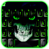 Green Horror Devil Keyboard -flaming skull  Latest Version Download