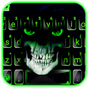 Green Horror Devil Keyboard -flaming skull  APK 1.0