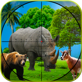 Hunting Jungle Wild Animals FPS Shooting Games  Latest Version Download