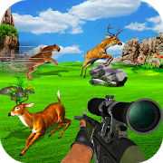 Hunting Jungle Wild Animals FPS Shooting Games app in PC - Download