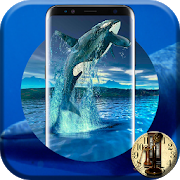 Blue Whale Crazy Analog Digital Android Clock 2017 APK