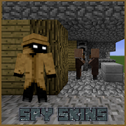Download Spy Skins Pack for MCPE 1 0 APK File for Android