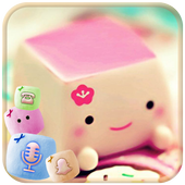 Marshmallow Candy Face Theme Latest Version Download