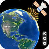 Live Earth Map 2018 : Satellite View, GPS Tracker  Latest Version Download