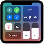 Control Center iOS 11 - Phone X Control Panel app in PC