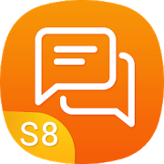 SMS Messenger style Samsung - S8 Message APK Download for