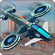 City Drone 3D Attack - Pilot Flying Simulator Game