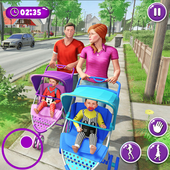 Virtual Mother New Baby Twins Family Simulator  Latest Version Download