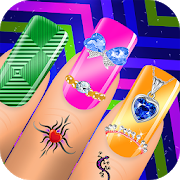 Nail Art Designs - Nail Manicure Games for Girls APK