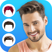 Hairdo : Men Hairstyle & Boys Haircut Photo Editor  For PC