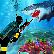 Scuba Diver Sniper Fury: Blue Whale Shark Hunter