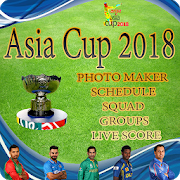Asia Cup 2018 Photo Maker and Schedule