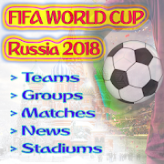 Fifa World Cup Schedule 2018 |News|Groups|Stadiums 1.0 Android for Windows PC & Mac