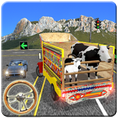Animals Transport Service Games in Cargo Truck  in PC (Windows 7, 8 or 10)