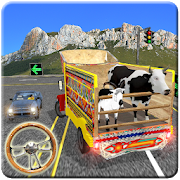 Animals Transport Service Games in Cargo Truck