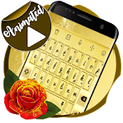 Golden Keyboard Animated  Latest Version Download