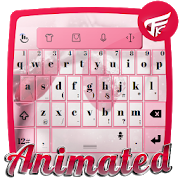 Pink winter Keyboard Animated  Latest Version Download