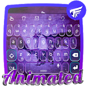 Purple dragon Keyboard Animated  Latest Version Download