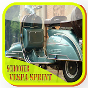 scooter modified vespa sprint