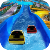 Water Slide Car Race and Stunts : Waterpark Race Latest Version Download