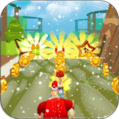 Boy Subway Surf Run Snow 1.0 Android for Windows PC & Mac
