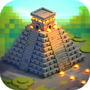 Aztec Craft: Ancient Blocky City Building Games APK