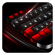 Black Red Keyboard APK