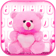 Lovely Teddy Bear Keyboard  10001003 Android for Windows PC & Mac