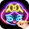 Draw Glow Princess 1.0.9 Android for Windows PC & Mac