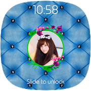 Blue Lock Screen APK