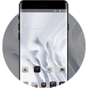EMUI White Luxury Theme for Huawei