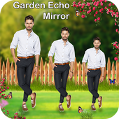 Mirror Magic: Garden Echo Mirror Effect