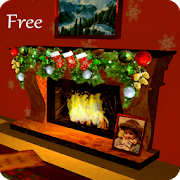 3D Christmas Fireplace HD Live Wallpaper 1.45 Android Latest Version Download